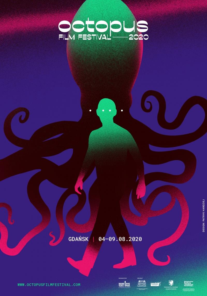 Plakat 3 edycji Octopus Film Festival (źródło: materiały promocyjne)