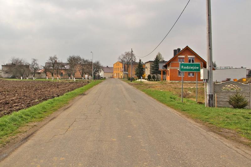 Droga do Radziejowa (źródło: wikimedia.org)