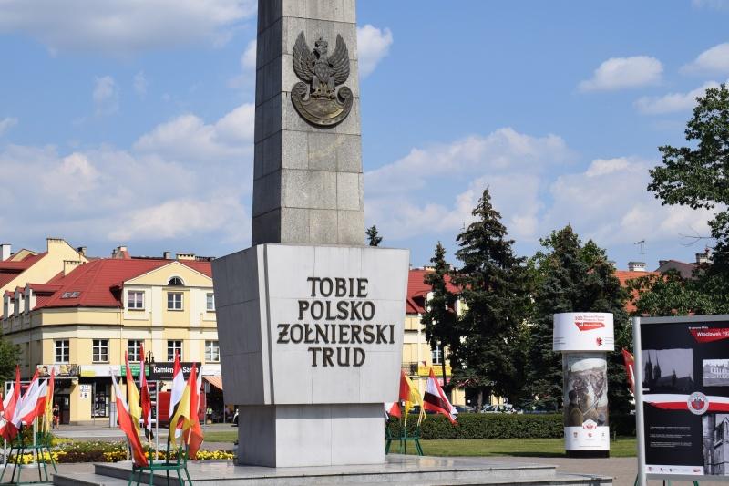 """100. rocznica """"Cudu nad Wisłą"""" we Włocławku (fot. PJ)"""