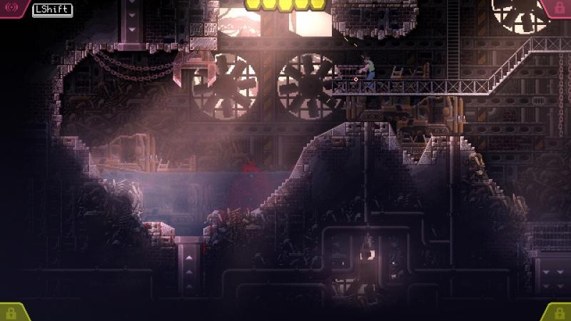 """Screen z gry """"Carrion"""" (źródło: rozgrywka własna)"""