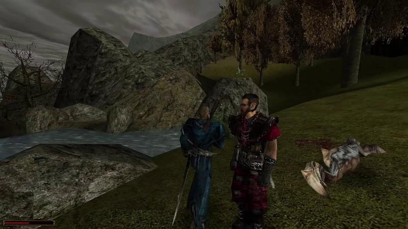 """Screen z gry """"Gothic"""" (źródło: youtube.com)"""