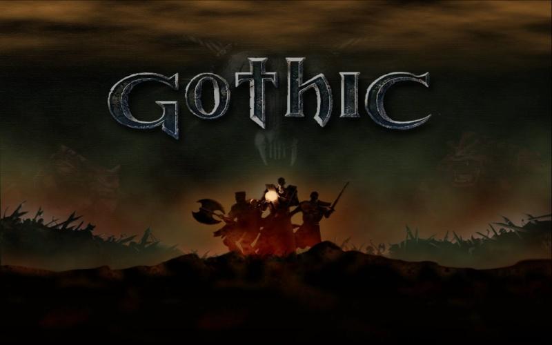 """Poster z gry """"Gothic"""" (źródło: materiały prasowe)"""