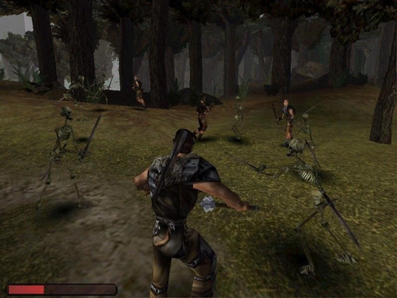 """Screen z gry """"Gothic"""" (źródło: steampowered.com)"""