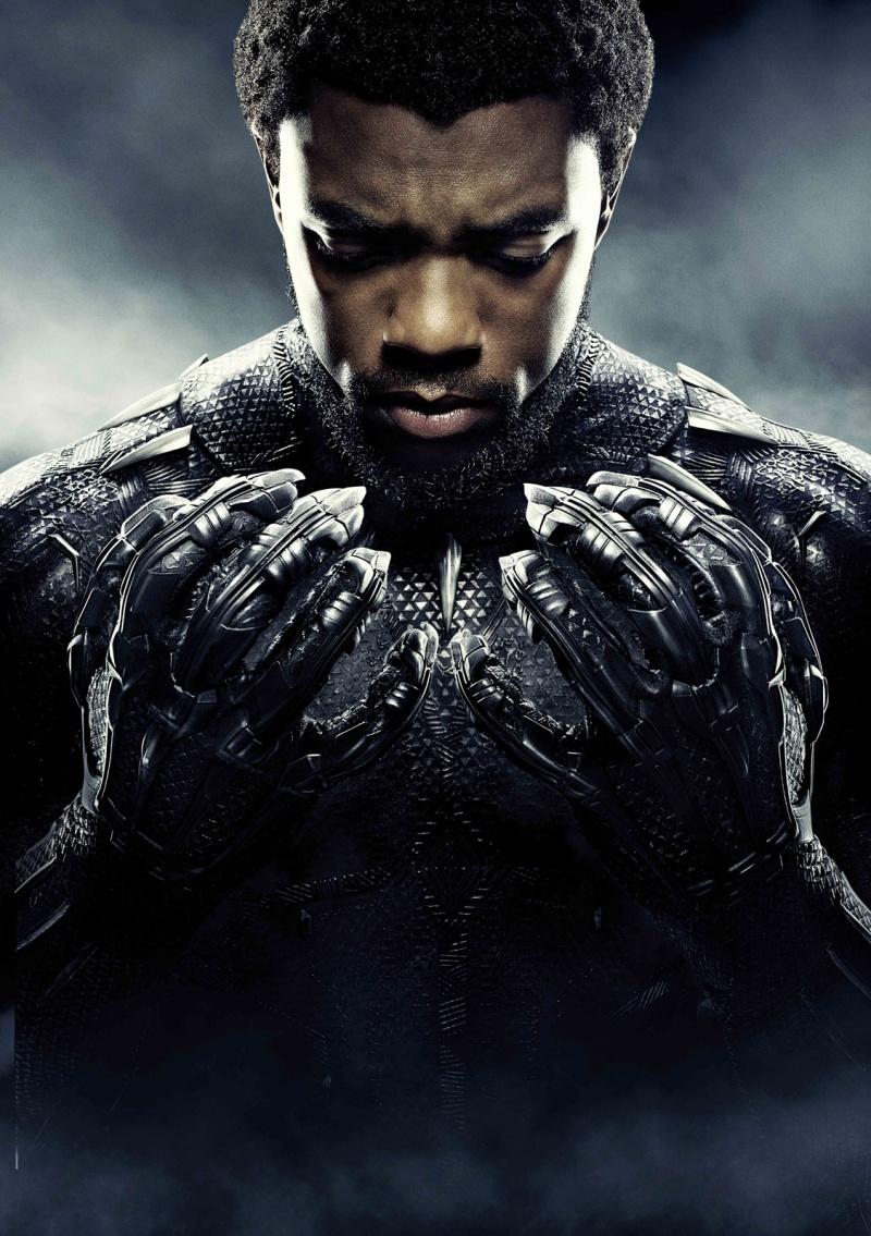 Chadwick Boseman jako T Challa (źródło: materiały prasowe)