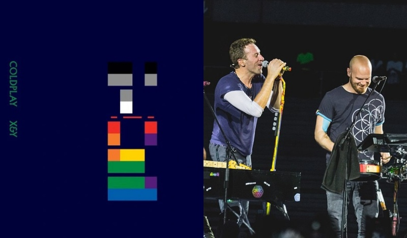 Okładka (źródło: materiały prasowe); Coldplay (źródło: wikimedia.org)