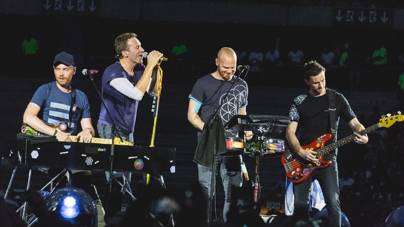 Coldplay (źródło: wikimedia.org)