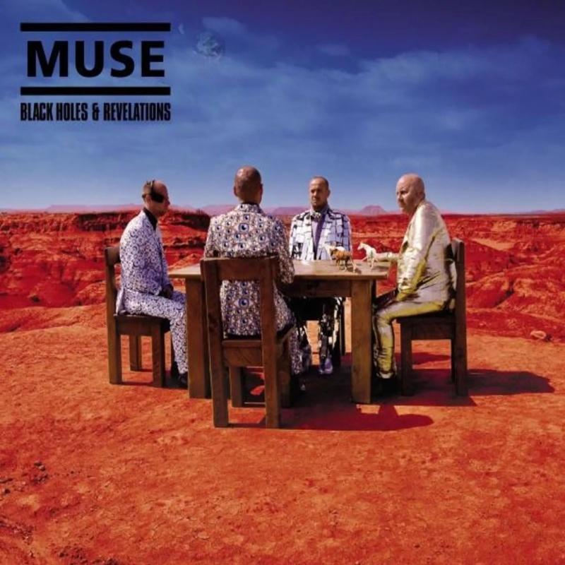 """Okładka albumu """"Black Holes Revelations"""" (źródło: materiały prasowe)"""