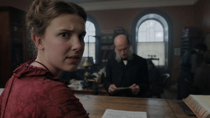 """Kadr z filmu """"Enola Holmes"""" (źródło: materiały prasowe/Netflix)"""