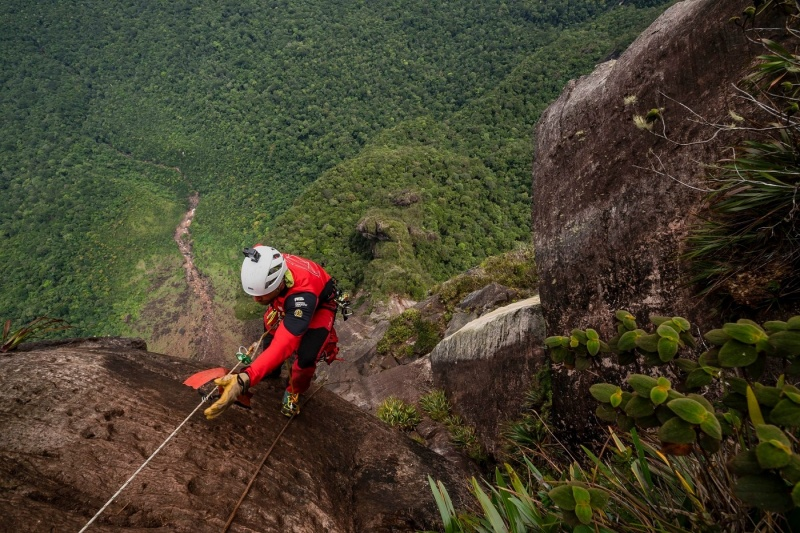 Wodospad Salto Angel (fot. Jan Wierzejski)