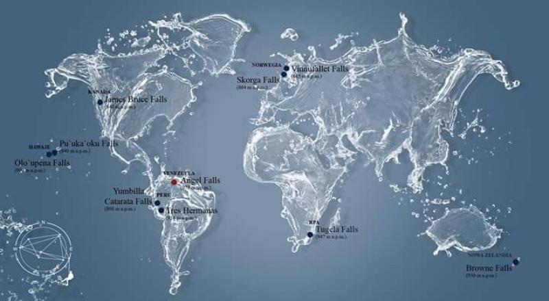 Mapa - Korona Wodospadów (źródło: facebook)