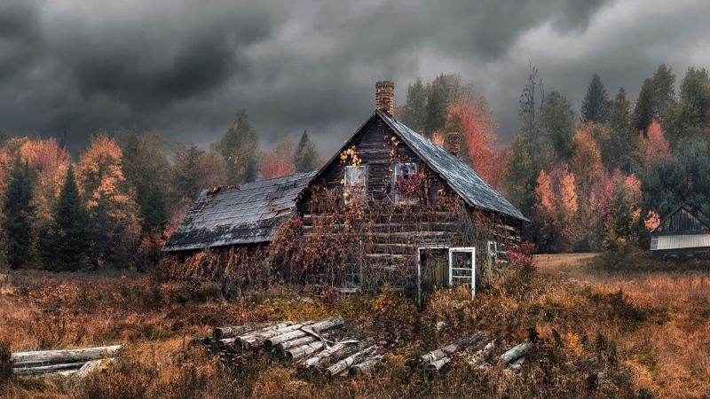 Stary dom (źródło: best-wallpaper.net)