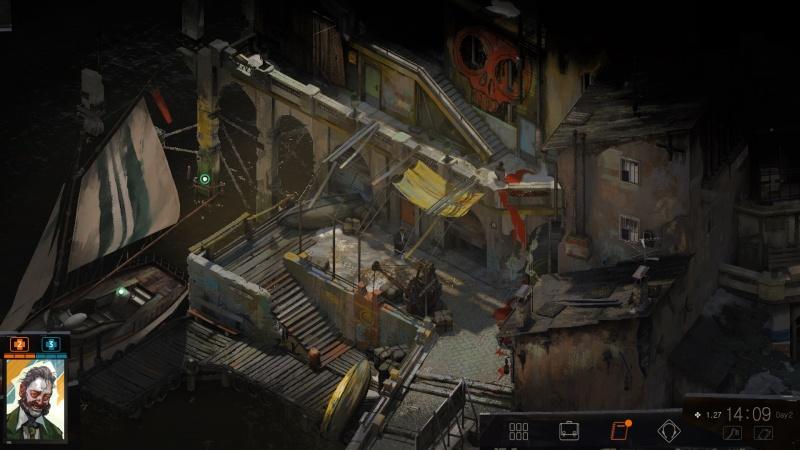 """Screen z gry """"Disco Elysium"""" (źródło: rozgrywka własna)"""