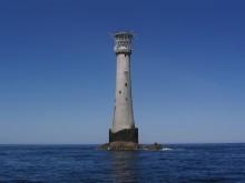 Bell Rock – najstarsza latarnia morska na Świecie zbudowana na morzu - morze;latarnia;najstarsza;morska;świecie;pracę;zbudowana;Stevenson;skały;cud
