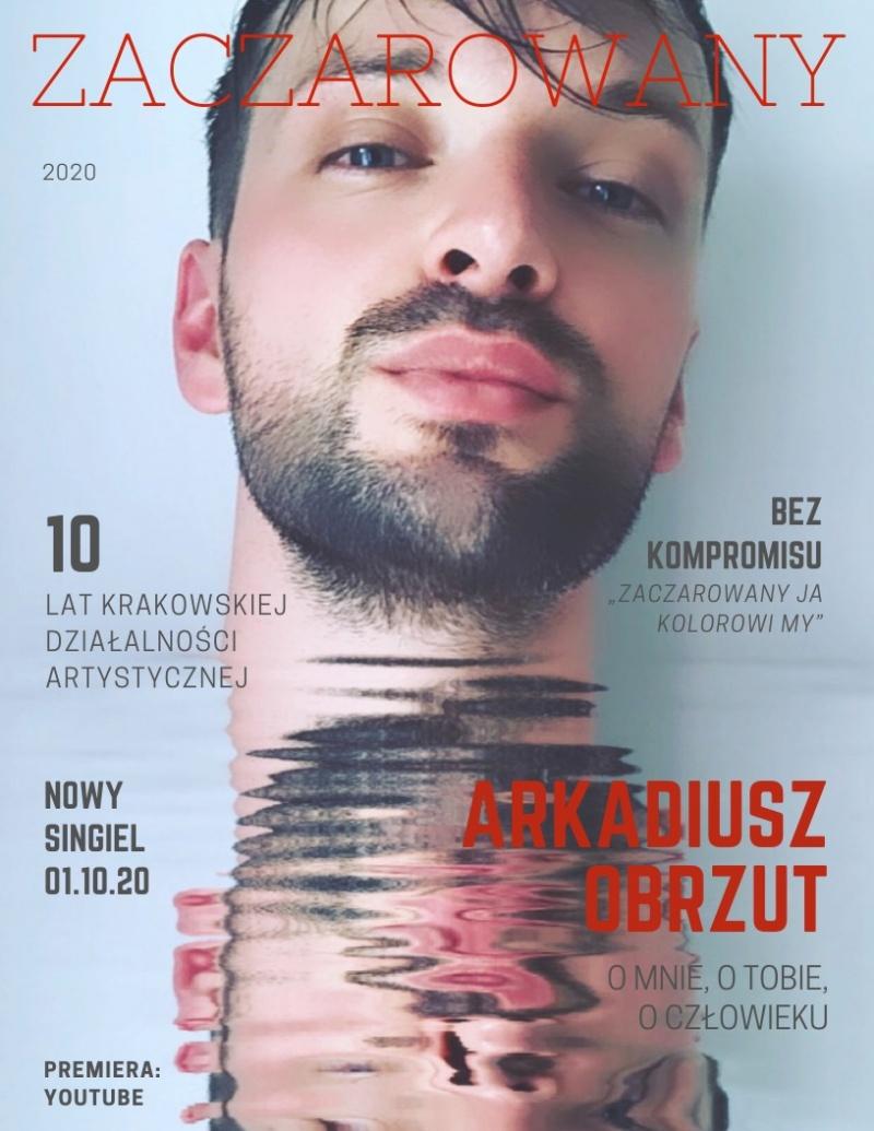 """Arek Obrzut - premiera singla pt. """"Zaczarowany"""" (źródło: materiały prasowe)"""