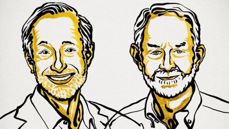 Laureat w dziedzinie Ekonomia - ilustracja (źródło: Niklas Elmehed/Twitter/Nobel Prize)