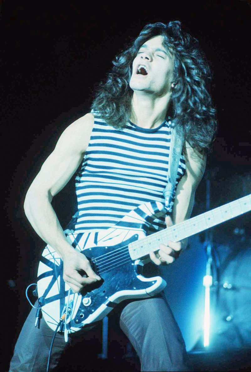 Eddie Van Halen (źródło: wikimedia.org)