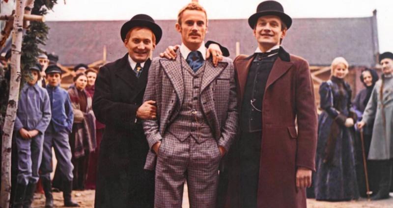 Wojciech Pszoniak po lewej jako Moryc Welt (źródło: materiały prasowe)