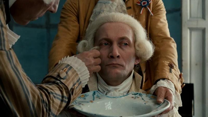 Wojciech Pszoniak jako Robespierre (źródło: youtube.com)
