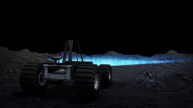 Ilustracja: Woda na Księżycu (źródło: youtube.com/screenshot)