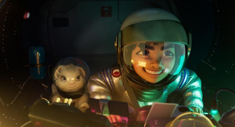 """Kadr z filmu """"Wyprawa na Księżyc"""" (źródło: materiały prasowe/Netflix)"""