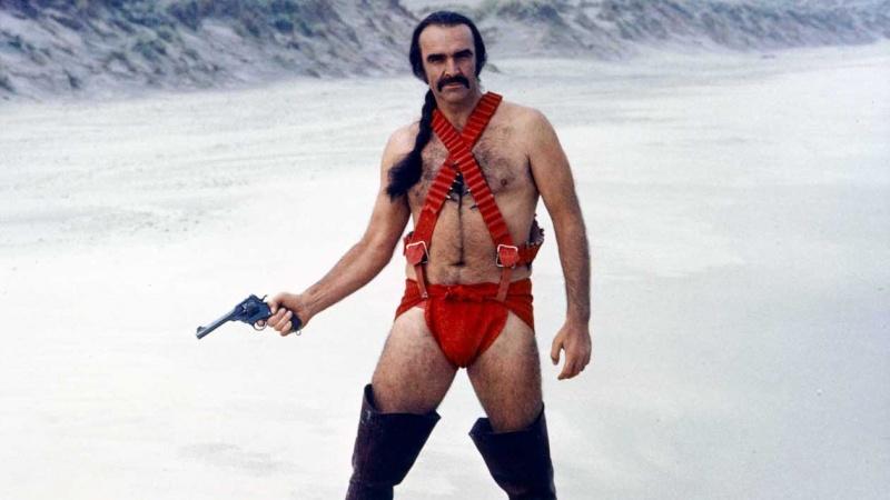 """Sean Connery w """"Zardoz"""" (źródło: materiały prasowe)"""