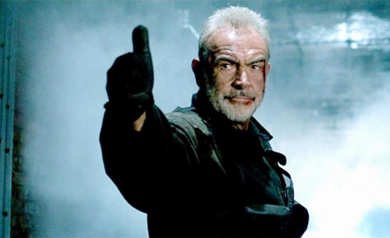 """Sean Connery w """"Twierdzy"""" (źródło: materiały prasowe)"""