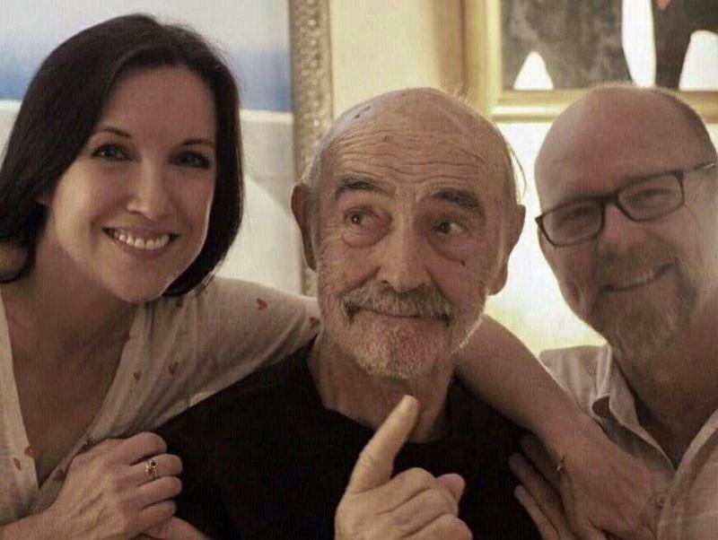 89-letni Sean Connery w 2019 roku (źródło: wikimedia.org)