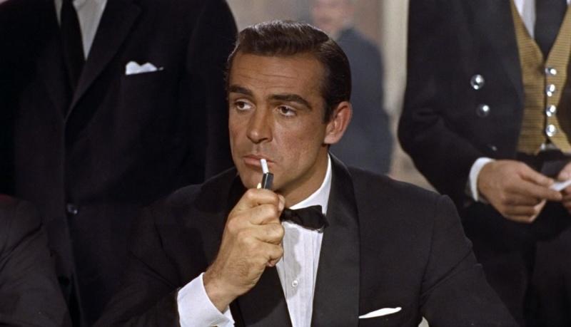 """Sean Connery w """"Doktor No"""" (źródło: materiały prasowe)"""
