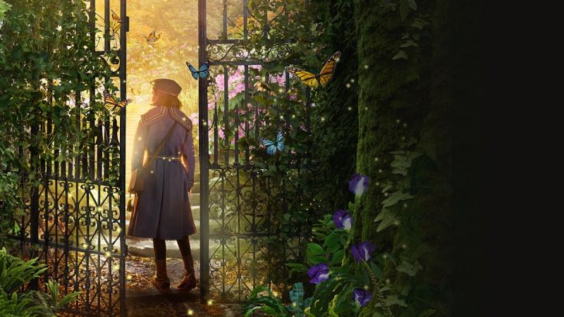 """Poster z filmu """"Tajemniczy ogród"""" (źródło: materiały prasowe)"""