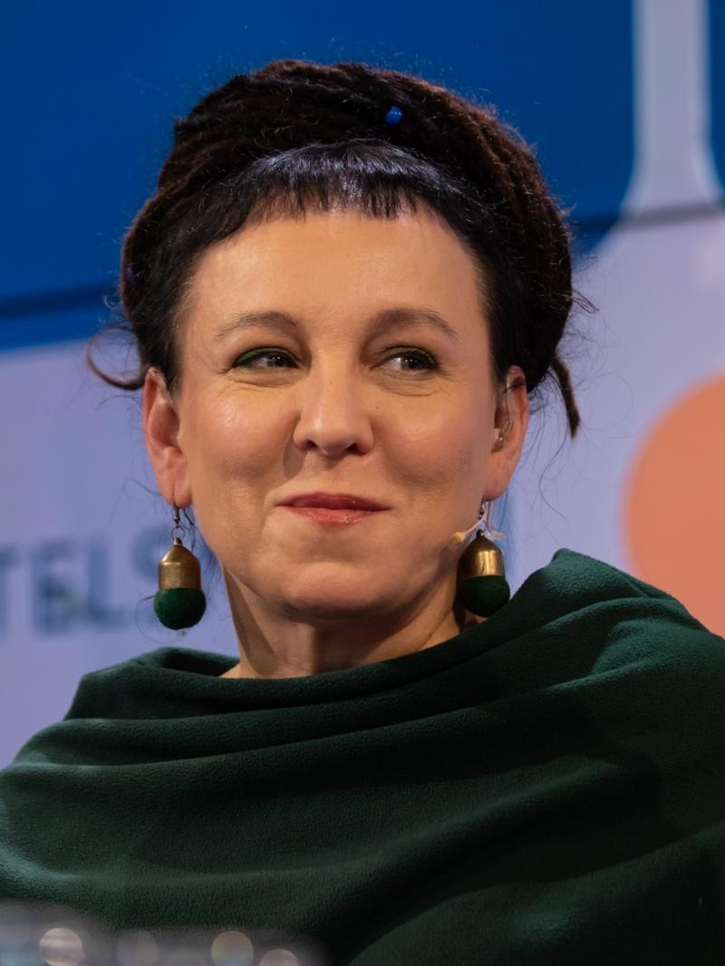 Olga Tokarczuk (źródło: wikimedia.org)