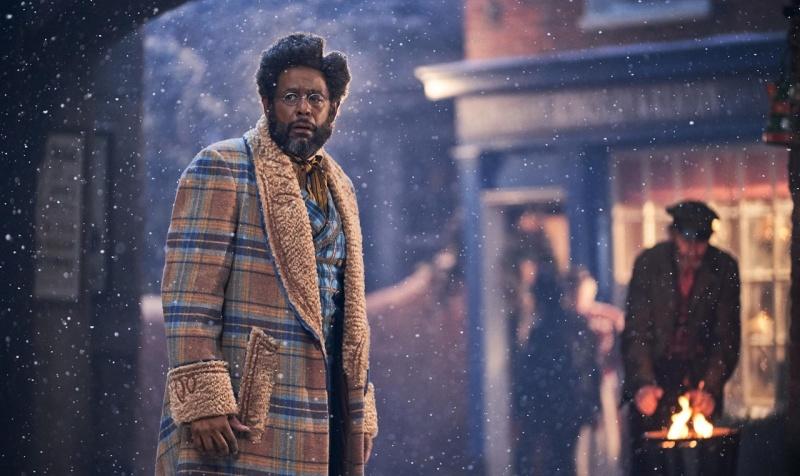 """Kadr z filmu """"Pan Jangle i świąteczna podróż"""" (materiały prasowe/Netflix)"""