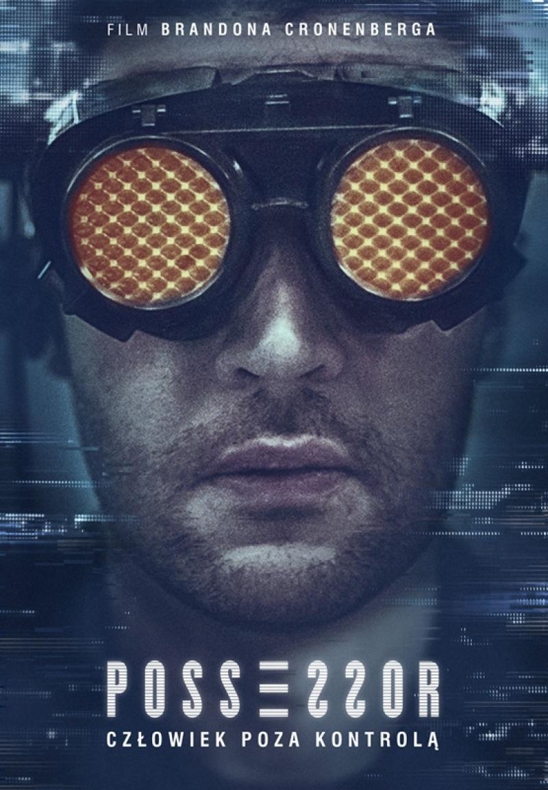 """Poster z filmu """"Possessor"""" (źródło: materiały promocyjne/Splat!FilmFest)"""