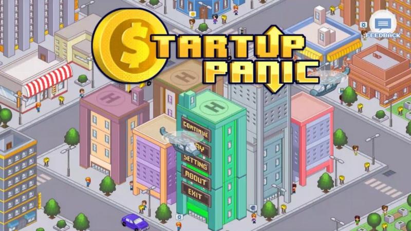 """Screen z gry """"Startup Panic"""" (źródło: youtube.com)"""