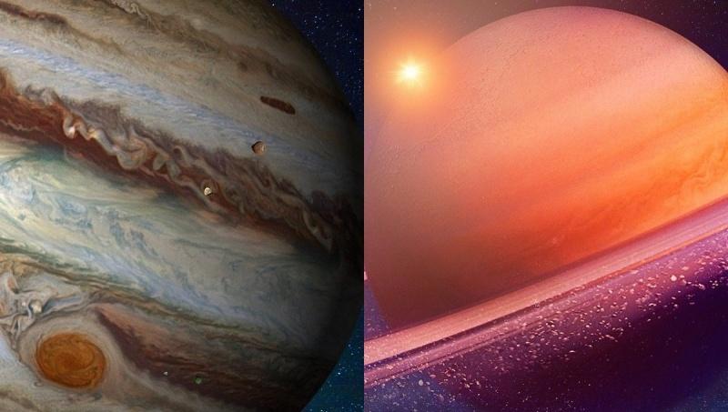 Jowisz i Saturn (źródło: pixabay.com)