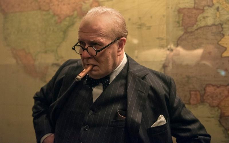 Gary Oldman jako Winston Churchill (materiały prasowe)