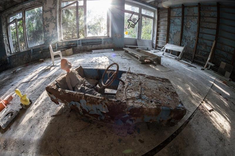 Wnętrze opuszczonego pokoju w Prypeci (źródło: pixabay.com)
