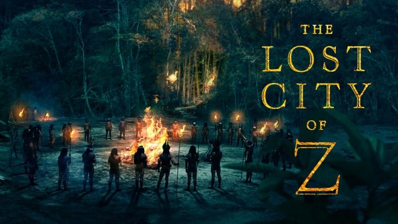 """Plakat z filmu """"Zaginione miasto Z"""" (materiały prasowe)"""