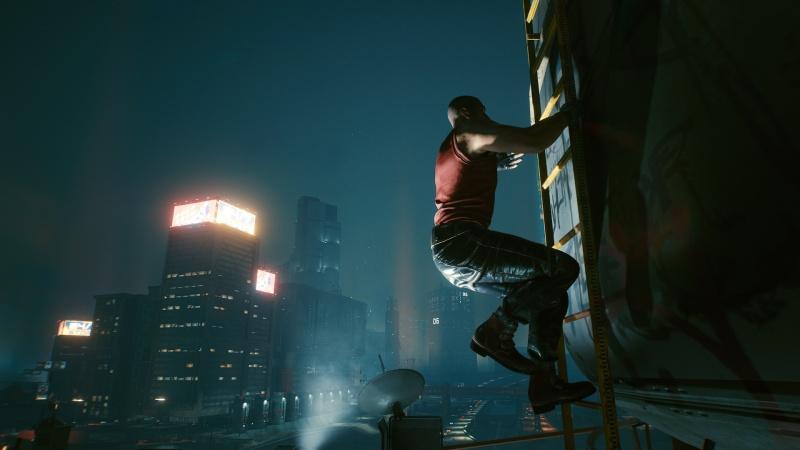 """Screen z gry """"Cyberpunk 2077"""" (źródło: rozgrywka własna)"""
