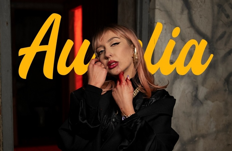 """Aurelia i jej """"Pseudorany"""" (okładka/materiały promocyjne)"""