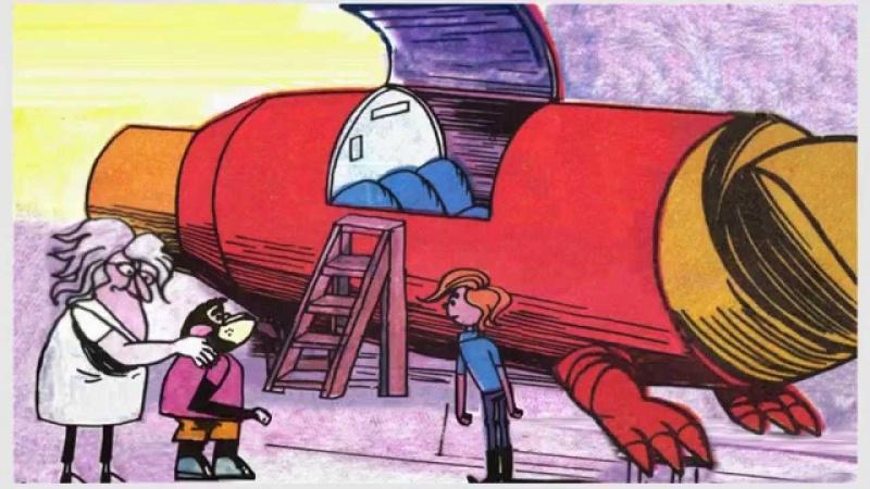 Tytus za chwilę zasiądzie za sterami (źródło: youtube.com/screenshot)