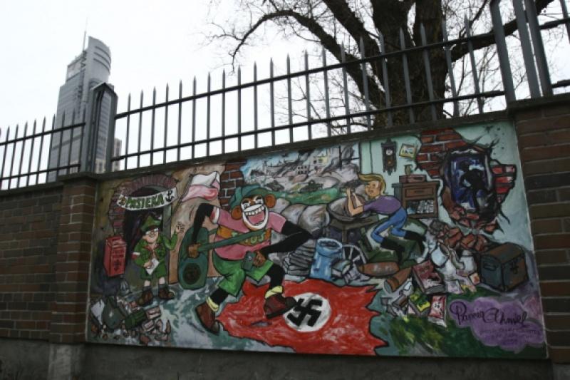 Mural (fot. figajpisze.wordpress.com - bardzo ciekawy blog, zaglądajcie)