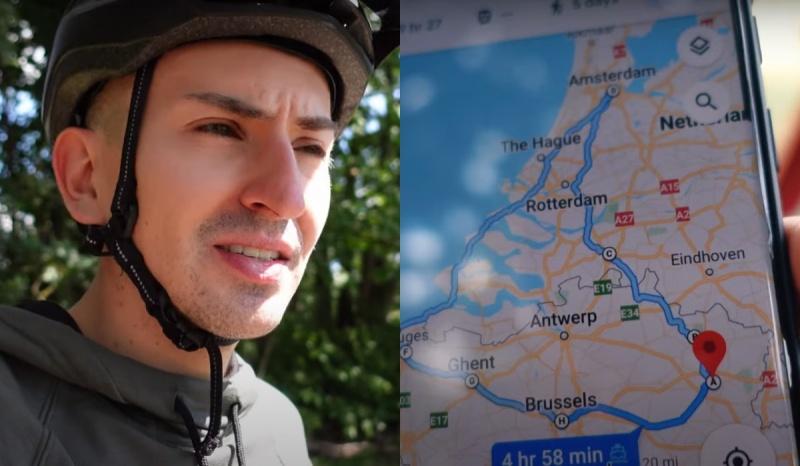 Bartek wiek, jak trafić do ciekawych miejsc dzięki Google Maps (źródło: youtube.com/screenshot)
