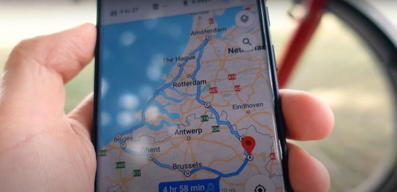 Z Google Maps dotrze wszędzie (źródło: youtube.com/screenshot)