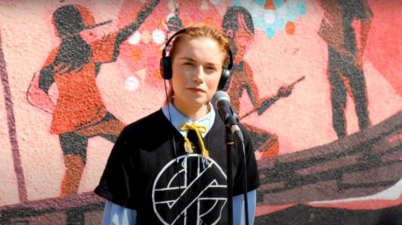 Alex Freiheit z duetu Siksa (źródło: youtube.com/screenshot)