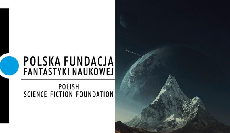 Polska Fundacja Fantastyki Naukowej (oficjalne logo oraz ilustracja promocyjna/autor: Michał Karcz)