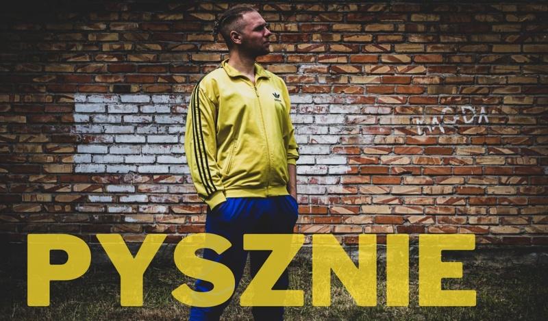 """Kwazzy, czyli Kuba Kwaśniewski w clipie pt. """"Pysznie"""" (facebook/materiały promocyjne)"""