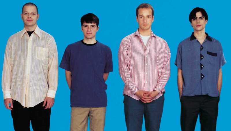 """Okładka krążka """"Blue Album"""" (źródło: materiały prasowe)"""