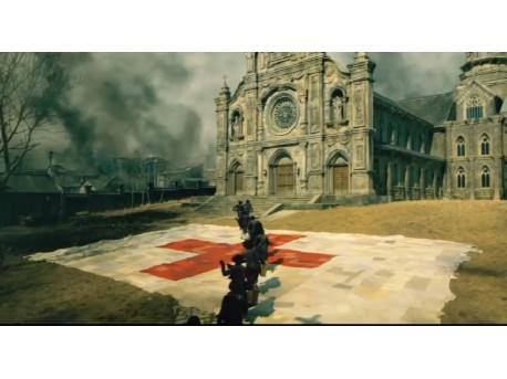 """Kadr z filmu """"Kwiaty wojny"""" (źródło: youtube.com)"""