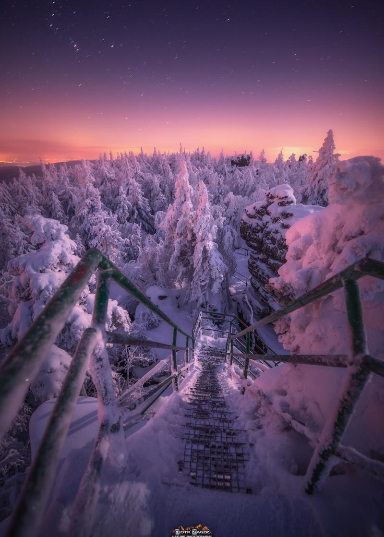 Zejście z Tronu Liczyrzepy do lodowej krainy (fot. PZ)
