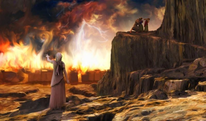 Żona Lota (źródło: bibleinfo.com)